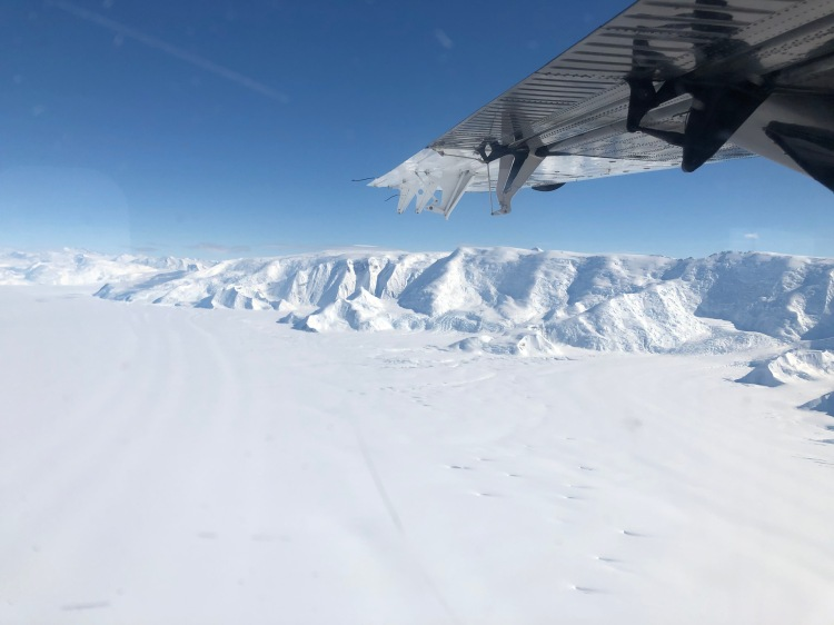 Transantarctic Mountains from 3000ft