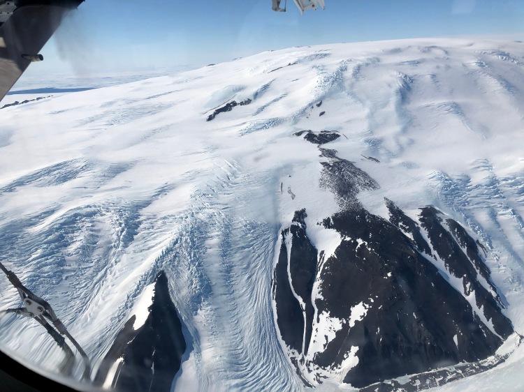 Mountain face of the Transantarctic Mountains