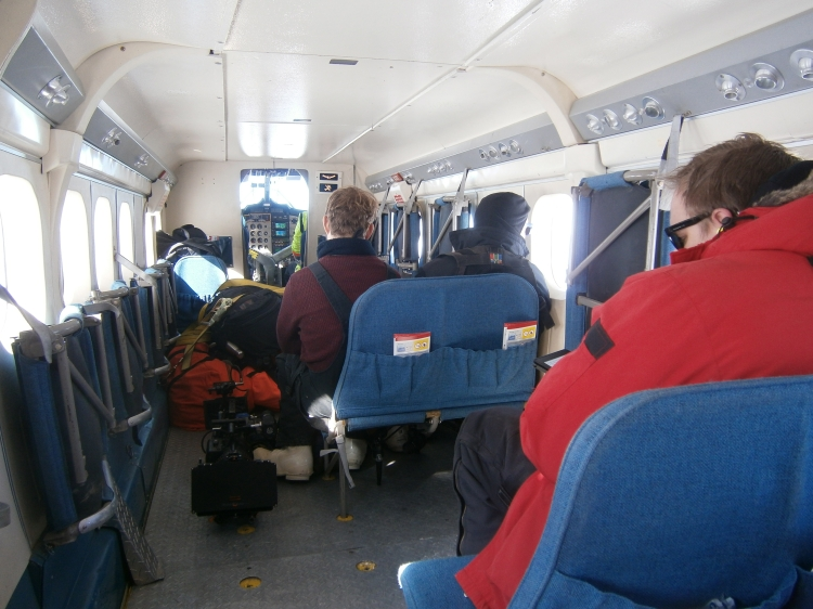 Riding the Twin Otter to Tall Tower