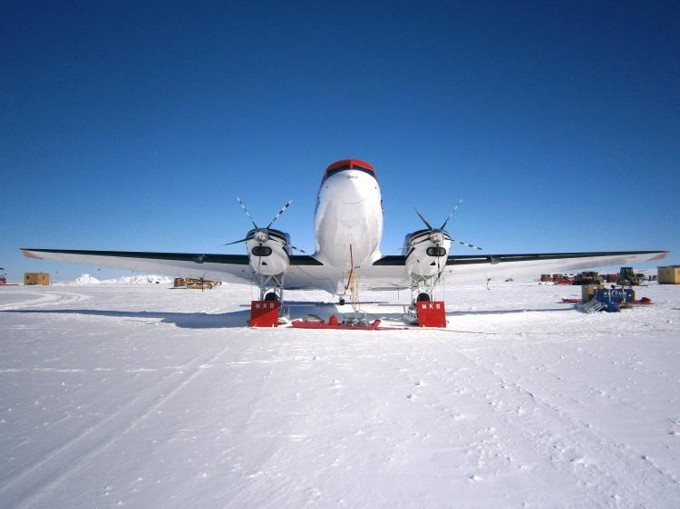 DC3-T Basler front view, WAIS Divide