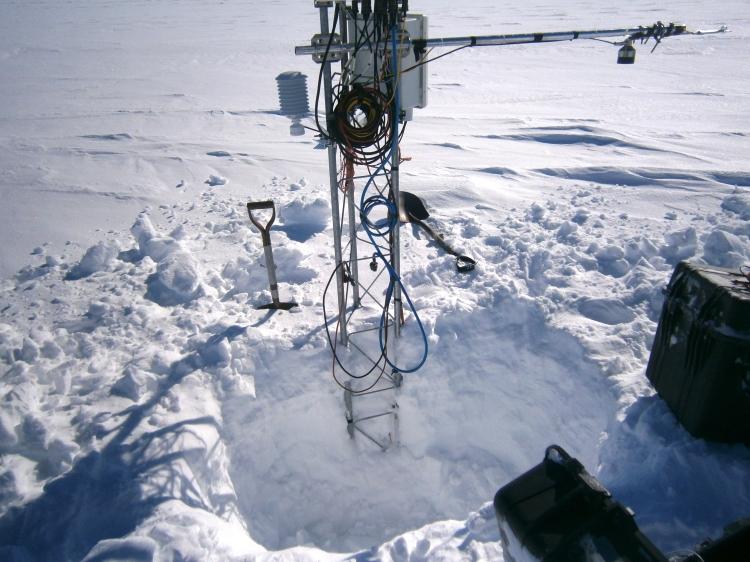 Power system dig, WAIS Divide